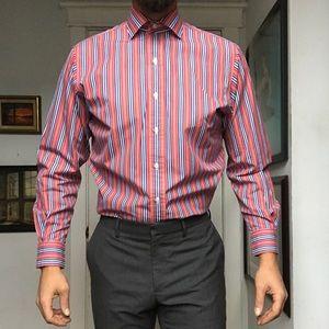 19b09a4ef0 Polo Ralph Lauren Regent Poplin Stripe Dress Shirt